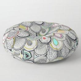 dragon scales Floor Pillow