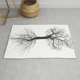 Mulberry tree without leaves with root Rug