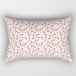 Candy Cane Christmas Rectangular Pillow
