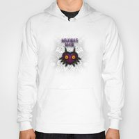majoras mask Hoodies featuring Majora's Mask by Art & Be