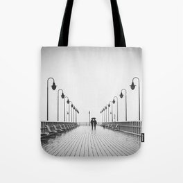 In Love On the Pier Tote Bag