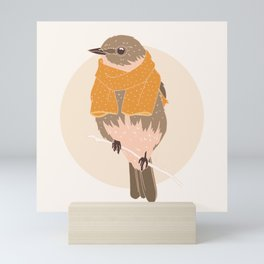 All Rugged Up Mini Art Print