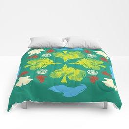 other duvet cover cuz it won't show up Comforters
