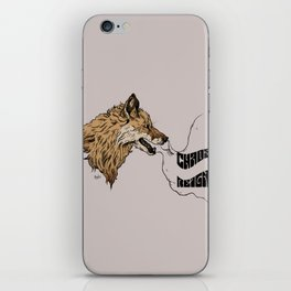 chaos reigns iPhone Skin