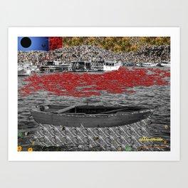 Overseas Experience Art Print