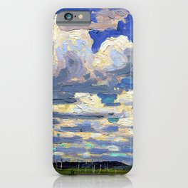 Tom Thomson - Summer Day - Digital Remastered Edition iPhone Case