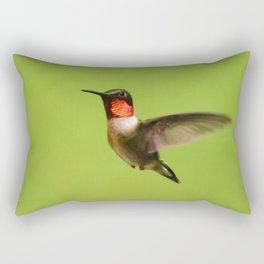 Hummingbird X Rectangular Pillow