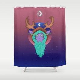 Malfurion The Green Beard | WoW Shower Curtain