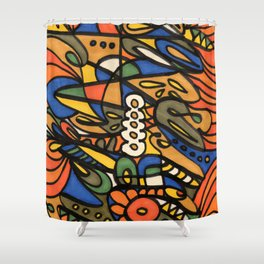 Make Art for Yourself Shower Curtain
