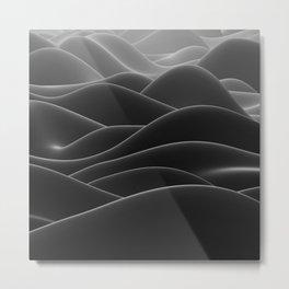 Dark sea of wax Metal Print