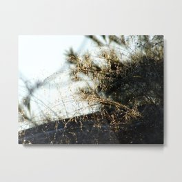 strings of gold Metal Print