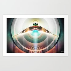∆  conscious flight Art Print
