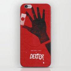 Dexter - Alternative Movie Poster iPhone & iPod Skin
