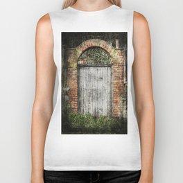 Old doorway Biker Tank