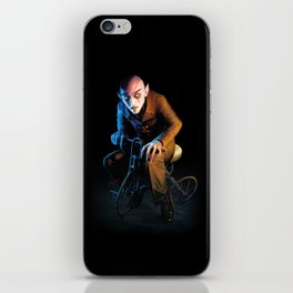 Nosferatu On A Tricycle iPhone Skin