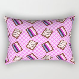 Genderfluid Pride Tarts Rectangular Pillow