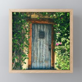 Door To Magical Fairytale Cottage Framed Mini Art Print