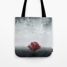 the RED tree ll Tote Bag