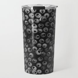 Black and white soda cans pattern Travel Mug