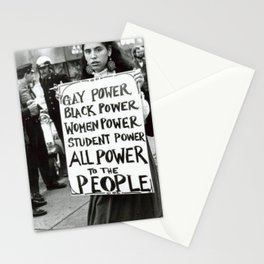 All Power To The People Stationery Cards