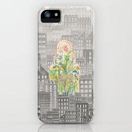 Eva City Glasshouse iPhone Case