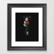 A Space Oddity Framed Art Print