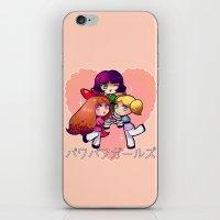 powerpuff girls iPhone & iPod Skins featuring PowerPuff  by Mickey Spectrum