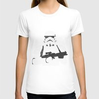 stormtrooper T-shirts featuring Stormtrooper by  Steve Wade ( Swade)