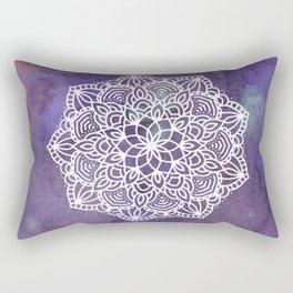 Ultraviolet Mandala #buyart #ultraviolet #mandala #society6 Rectangular Pillow