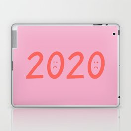 2020 Unhappy Emoji Year Laptop & iPad Skin