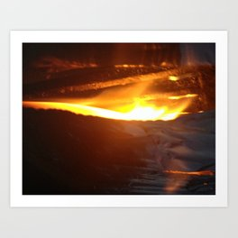 Gates of Hell Art Print