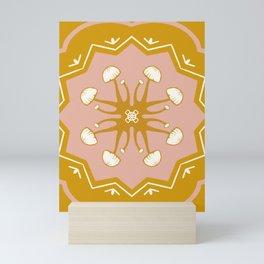 Mushie Mandala Mini Art Print