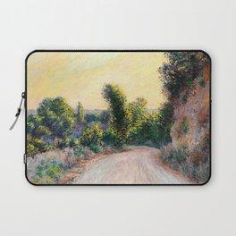 "Claude Monet ""Chemin"" Laptop Sleeve"