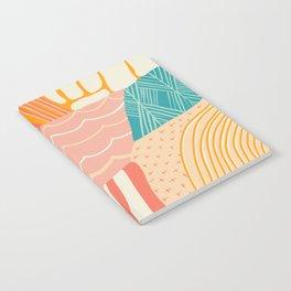 beach quilt Notebook