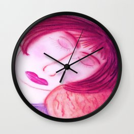 Her Baby Made Her Whole... Wall Clock