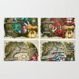 Alice of Wonderland Series Rug