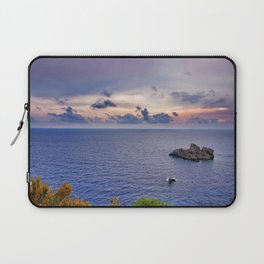 Sea View, Corfu Laptop Sleeve