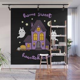 Home Sweet Haunted Home Wall Mural