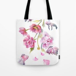 Peony Fish Success Story Tote Bag
