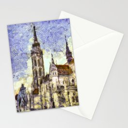 The Church Vincent Van Gogh Stationery Cards
