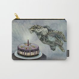 Turtle Birthday Carry-All Pouch
