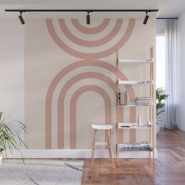 Abstract  Mid Century Modern art Wall Mural