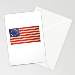 Betsy Ross Flag design Stationery Cards