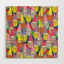 Mister Gnome Wood Wall Art