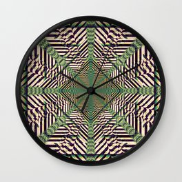 Imprisoned Reality Wall Clock