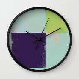 Abstract Geometry No. 12 Wall Clock