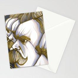 Nietzsche eternal return Stationery Cards