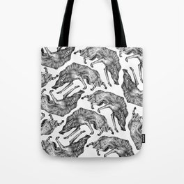 Wild Hair Tote Bag