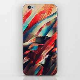 64 Watercolored Lines iPhone Skin