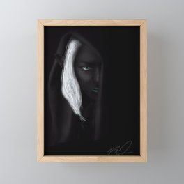 DARK ELF Framed Mini Art Print